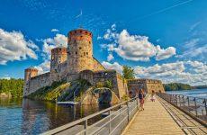Поездка в Финляндии осенью